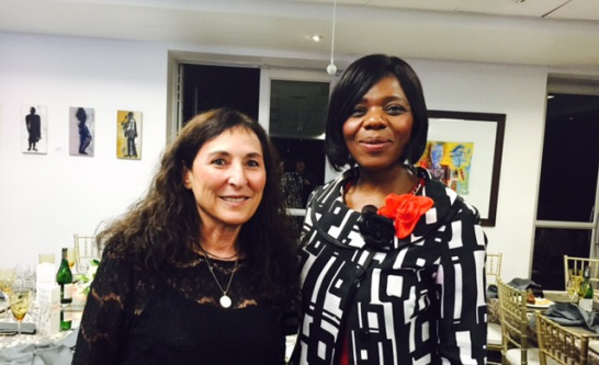 Carolyn Raphaely and Thuli Madonsela, Webber Wentzel Awards, 2015