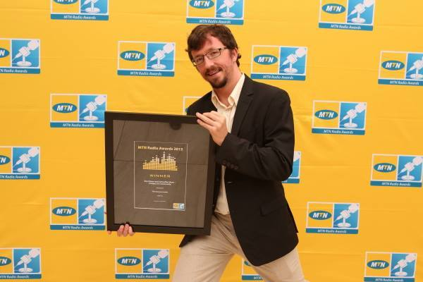 Paul McNally, MTN Radio Awards 2015